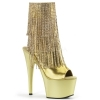 ADORE - 1024RSF Gold Fringe Faux Leather